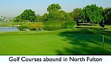 Golf Abounds in North Fulton County