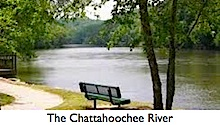 The Chattahoochee River in North Fulton County