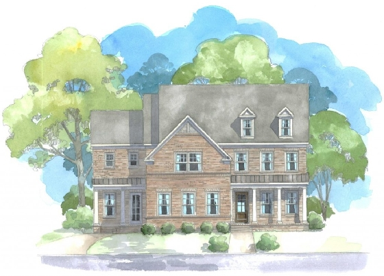 New Homes in Haddonfield by Edward Andrews