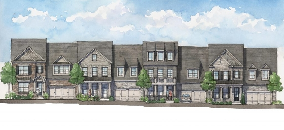 New Homes in Harlow - Built by Edward Andrews in Alpharetta