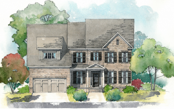 New Homes at Reed Mill in Gwinnett County