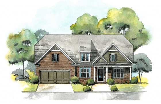 New Homes in Reed Mill - Built by Edward Andrews in Buford, GA