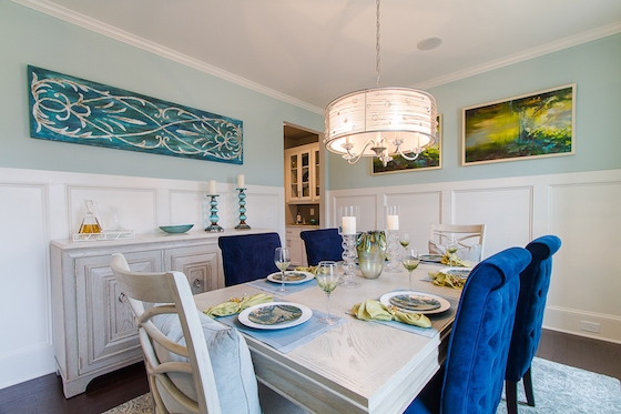 New Homes in Haddonfield - Dining Room