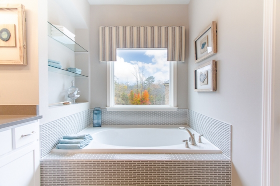 Lawrenceville New Homes built by Edward Andrews - Bathroom