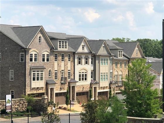 New Homes in Atlanta, GA built by JW Collection