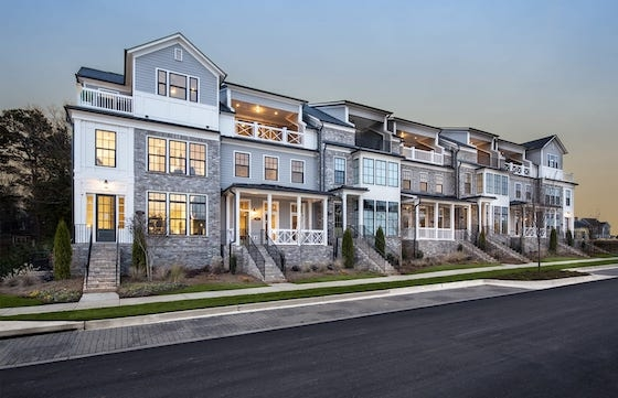 New Homes in Alpharetta, GA at Foundry built by John Wieland Homes and Neighborhoods