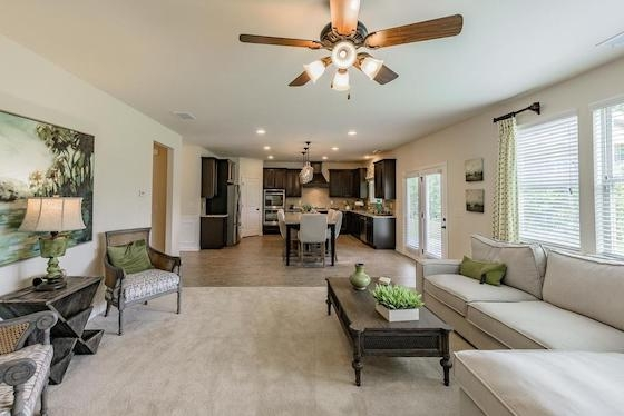 New Homes in Buford, Georgia at Sardis falls built by Century Communities