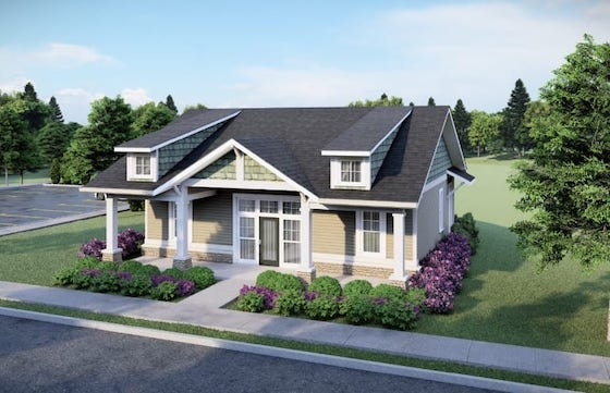 New Active Adult Homes in Powder Springs, GA at Wimberly built by Pulte Homes