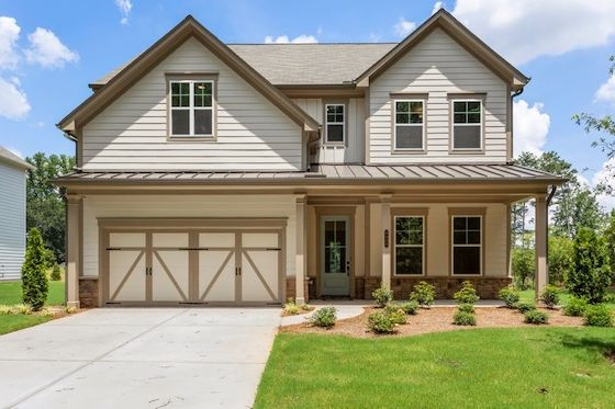 New Homes in Tucker, GA built by Minerva Homes in Enclave at Belvedere