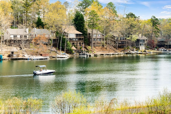 New Homes in Waleska, Georgia built by Majestic Lifestyle Builders at Lake Arrowhead!