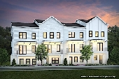 New Townhomes in Atlanta, GA built by Brock Built in Riverline!